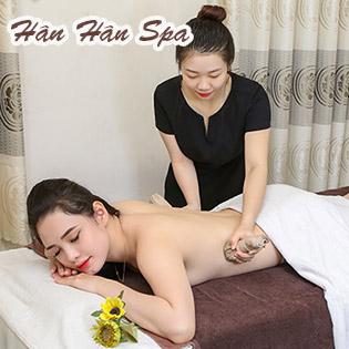 Miễn Tip - (120') Massage Body + Foot + Ngâm Chân + Chạy Tinh Chất OHUI + Đắp Mặt Nạ - Hân Hân Spa