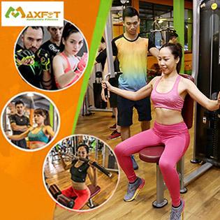 Thẻ 4 Tuần Tập Gym, Yoga & 8 Môn Group X Không Giới Hạn Thời Gian + Tặng Ưu Đãi Hấp Dẫn - CLB Maxfit Đẳng Cấp Quốc Tế