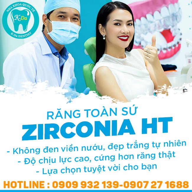 Hệ Thống Nha Khoa Quốc Tế K-Da - Răng Toàn Sứ Zirconia HT 100% Của Đức - Bảo Hành 10 Năm
