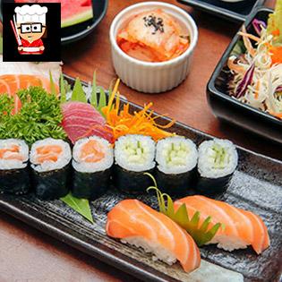 Đại Tiệc Món Nhật Ngon Ngất Ngây Combo 01 Người Tại Yuki Sushi