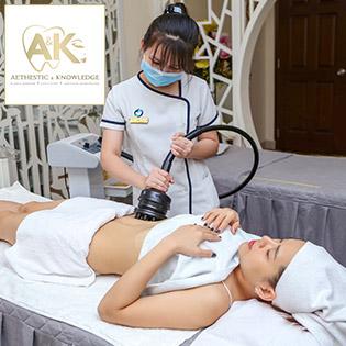 Miễn Tip - Trọn Gói 05 Lần Tan Mỡ, Giảm Béo Siêu Tốc - Hiệu Quả Ngay Lần Đầu Tiên - A&K International Aesthetics Clinic 5*