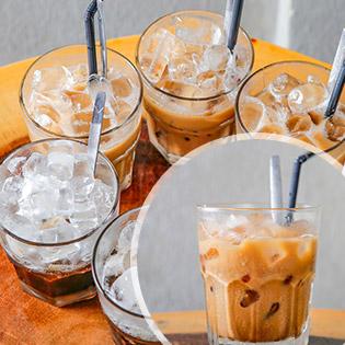 Hệ Thống AM Café 24/7 - Cà Phê Xuyên Màn Đêm - Combo 6 Ly Cafe Sữa/ Đá