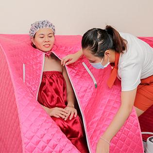 Xông Hơi Thảo Dược Độc Quyền + Massage Foot Giảm Stress Tại Tâm An Spa