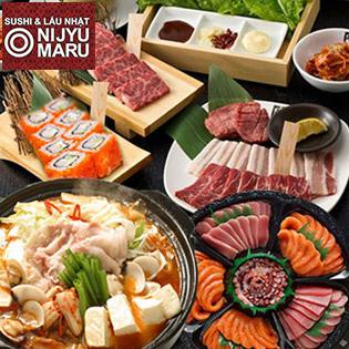 NIJYU MARU - Thường Thức Thả Ga Sushi & Lẩu Nhật
