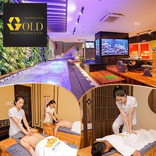 Giá Sốc - Buffet Massage Body 10 In 1, Buffet Vitamin Free Dành Cho Cặp Đôi Tại Gold Health's Therapy Spa