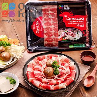 ORI FOOD - Combo Lẩu Bulbogi + Ba Chỉ US (770gr/Khay)