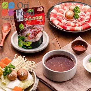 ORI FOOD - Combo Lẩu Bulgogi & Thịt Ba Chỉ Bò 500gr