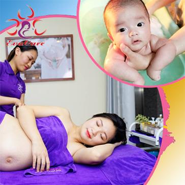 Evacare Spa - Massage Bầu Trước Và Sau Sinh, Tắm Bé, Thông Tắc Kinh Sữa Tại Hệ Thống Chăm Sóc Mẹ Và Bé