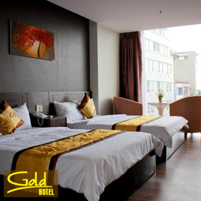 Khách Sạn Gold Hotel Đà Nẵng - Phòng Tiêu Chuẩn 3*, Ăn Sáng Buffet - 2N1Đ Dành Cho 02 Khách