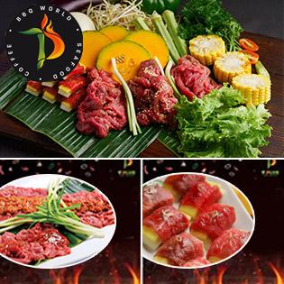Combo Bò 4 Món Hảo Hạng Dành Cho 2-3 Người Tại T - Plus BBQ Resto