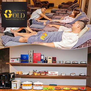 Trọn Gói Dịch Vụ Massage Foot + Chà Gót Chân + Tẩy Tế Bào Chết + Buffet Vitamin Free Tại Gold Health's Therapy Spa