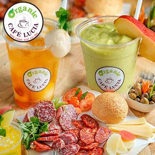 Toàn Menu Thức Uống & Món Ăn Tốt Cho Sức Khỏe Tại Organic Cafe Lucia