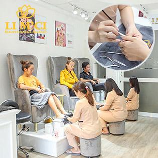 Công Nghệ CND - Làm Đẹp Và Chăm Sóc Móng Chuyên Sâu + Massage Foot/ Nối Mi Tại Limci Beauty Center Nail