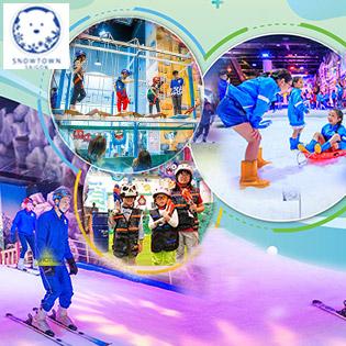 Vui Hè Cùng Tuyết Trắng - Vé Trọn Gói Vui Chơi Trượt Tuyết, Ngắm Tuyết Rơi Chỉ Duy Nhất Tại Khu Tuyết Snow Town Sài Gòn