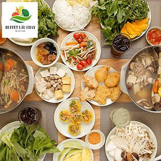 Buffet Lẩu Chay Sang Trọng Đầu Tiên Ở Sài Gòn – Miễn Phí Tráng Miệng + Thức Uống – NH Buffet Lẩu Chay