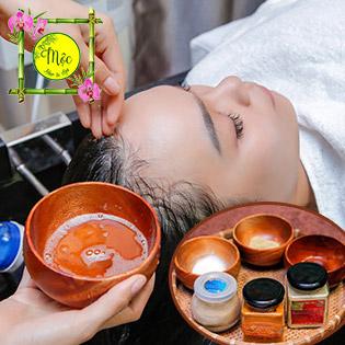 Chăm Sóc Da Mặt/ Gội Đầu Dưỡng Sinh/ Tẩy Tế Bào Chết Tại Mộc Hair & Spa