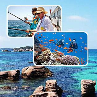 Tour Phú Quốc 1 Ngày + Đêm – Câu Cá Lặn Ngắn San Hô – Câu Mực Đêm – Du Ngoạn Đảo – Tham Quan Cơ Sở Nuôi Cấy Ngọc Trai. Khởi Hành Hàng Ngày