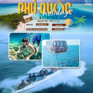 Tour Cano 1 Ngày 5 Đảo Đẹp Nhất Phú Quốc - Hòn Móng Tay - Hòn Bườm - Hòn Mây Rút - Hòn Rỏi – Trải Nghiệm Cảm Giác Mạnh - Lặn Ngắm San Hô - Khởi Hành Hàng Ngày