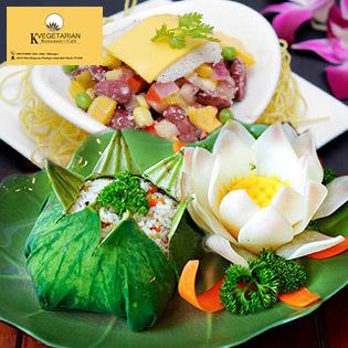 Buffet Chay Thanh Tịnh Top Nhà Hàng Ngon Nhất Sài Gòn Tại KVegetarian - Restaurant & Café