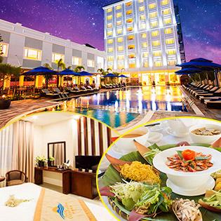 Phú Quốc Ocean Pearl Hotel 4*2N1Đ Phòng Superior – Miễn Phí Buffet Sáng Dành Cho 2 Người