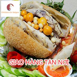 Gà Ta Bó Xôi Nguyên Con 1,3kg Dành Cho 4 Người Tại Chicken Go Saigon - Giao Hàng Tận Nơi