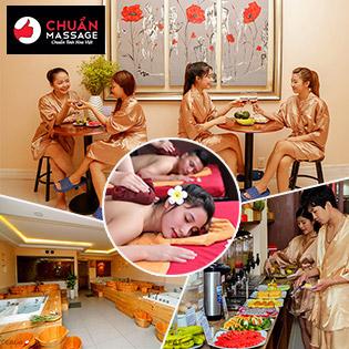 Buffet Massage Body 10IN1 Cho 2-5 Người + Buffet Vitamin Dùng Không Giới Hạn - Chuẩn Massage & Spa