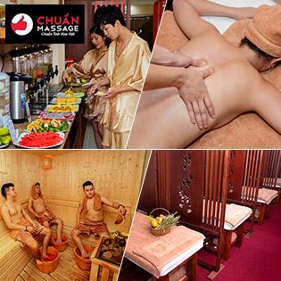 Buffet Massage Body 10IN1 Cho 1 Người + Buffet Vitamin Sử Dụng Không Giới Hạn, Giá Sốc - Chuẩn Massage & Spa
