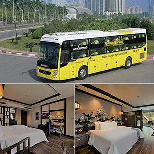 Combo Sapa Hot: 2N1Đ Khách Sạn Tiêu Chuẩn 4* Lotus Aroma Hotel + Vé Xe Khứ Hồi Hà Nội - Sapa - Cho 01 Khách