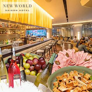 Áp Dụng Lễ - Wine Not - Buffet Rượu Vang Và Món Âu Cao Cấp Tại Whisper Lounge & Bar - New World Saigon Hotel 5 Sao
