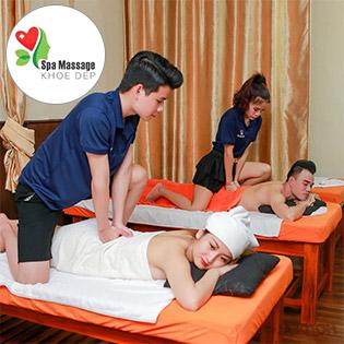 Trọn Gói Massage Body Tinh Dầu + Đá Nóng + Foot Phục Hồi Năng Lượng Tại Spa Massage Khỏe Đẹp