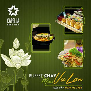 Buffet Chay Mùa Vu Lan Tại Capella Park View