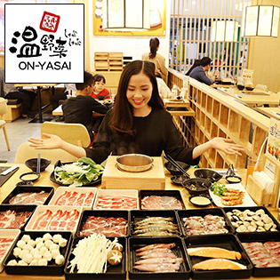 Buffet Lẩu Đúng Chuẩn Nhật Bản Tại Nhà Hàng On-Yasai Shabu Shabu Việt Nam - Royal City