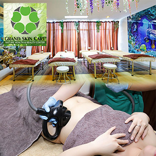 Giảm Béo/ Điều Trị Mụn/ Sẹo Rỗ/ Thâm Nách, Mông/ Ủ Trắng Mặt - Cam Kết Hiệu Quả 100% - Grand Skin Care - Thương Hiệu Uy Tín Sài Gòn