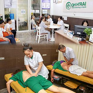 Khám Điều Trị Các Bệnh Về Xương Khớp, Thoát Vị Đĩa Đệm Cột Sống + Châm Cứu Tại Phòng Khám Y Học Cổ Truyền QH H'rai (120 Phút)