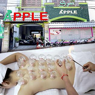 Hệ Thống Apple Spa Nổi Tiếng Số 1 Về Massage Body Thái Đá Nóng