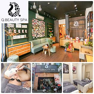 Trọn Gói Liệu Trình 15 Lần Triệt Lông Vĩnh Viễn - Bảo Hành 2 Năm/ Massage Body Thư Giản Tại Q Beauty Spa