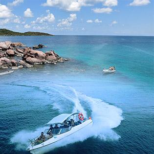 Tour Cano 1 Ngày Tứ Đảo Đẹp Nhất Phú Quốc - Hòn Móng Tay - Hòn Bườm - Hòn Mây Rút - Hòn Rỏi – Trải Nghiệm Cảm Giác Mạnh - Lặn Ngắm San Hô - Khởi Hành Hàng Ngày