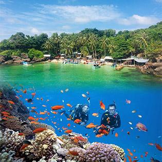 Tour Phú Quốc 1 Ngày - Câu Cá Lặn Ngắm San Hô - Khám Phá Hòn Móng Tay - Hòn Dăm Ngang - Bãi Sao - Khởi Hành Hàng Ngày