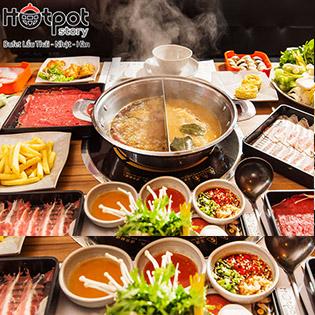 Hotpot Story Mạc Đĩnh Chi - Buffet Tinh Hoa Lẩu Bò Mỹ & Hải Sản, Áp Dụng Menu 319.000 VND