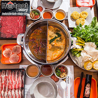 Hotpot Story Mạc Đĩnh Chi - Buffet Tinh Hoa Lẩu Hải Sản, Áp Dụng Menu 199.000 VND
