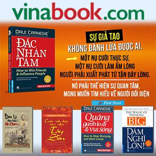Phiếu Mua Sách Trên Vinabook.com - Áp Dụng Kèm Các Chương Trình Khuyến Mãi Khác Trên Vinabook.com