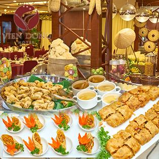 Buffet Chay Mừng Vu Lan Hơn 40 Món Tại Viễn Đông Hotel