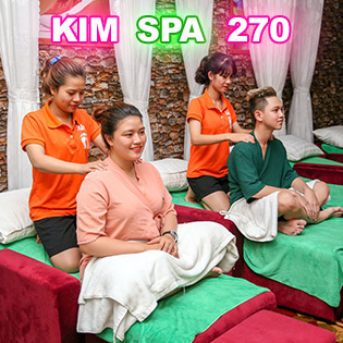 Massage Chân, Massage Toàn Thân Và Đá Nóng Trong 60 Phút Tại Spa Cao Cấp - Kim Spa 270