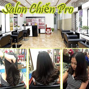 HOT Combo Trọn Gói Làm Tóc Cao Cấp Chuyên Nghiệp Tại Hair Salon Chiến Pro
