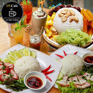 Trải Nghiệm Toàn Menu Nước Uống & Món Ăn Trong Không Gian Xanh Mát Tại 1T Cafe
