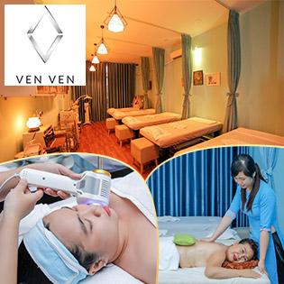 Ven Ven Spa - Top 10 Spa Nổi Tiếng SG Về Bấm Huyệt Shiatsu, Massage Body, Foot