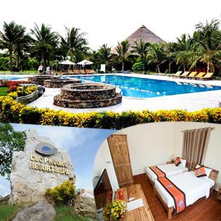 Cúc Phương Resort Ninh Bình 2N1Đ: Standard Villa Double/Twin Cho 2 Người, Miễn Phí Tắm Khoáng