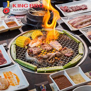 King BBQ Buffet Nướng Chuẩn Vị Ngon - Menu 307.000 CN Hoàng Hoa Thám