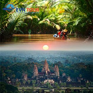Tour Hà Nội – Mỹ Tho – Sài Gòn – Siem Reap – Phnom Penh 5N4Đ – Khám Phá Miền Tây – Khám Phá Angkor Huyền Bí. Khởi Hành Từ Hà Nội