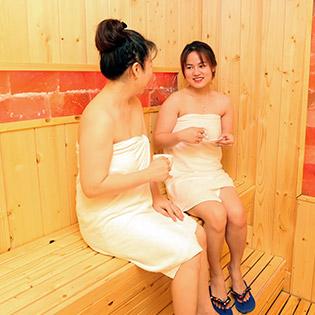 Xông Hơi Jim Ji Bang Hàn Quốc Không Giới Hạn Thời Gian + Massage Body, Foot Tại Hệ Thống Hoàng Gia Spa